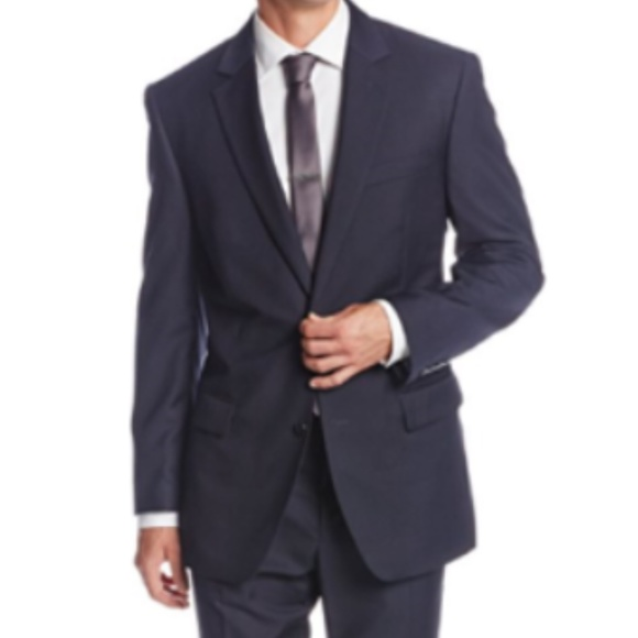 cce7d839e889 Bill Blass Suits & Blazers | Mens Designer Suit Navy Blue 38sx35w ...